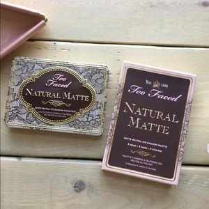NWB Too Faced Natural Matte Eyeshadow Palette